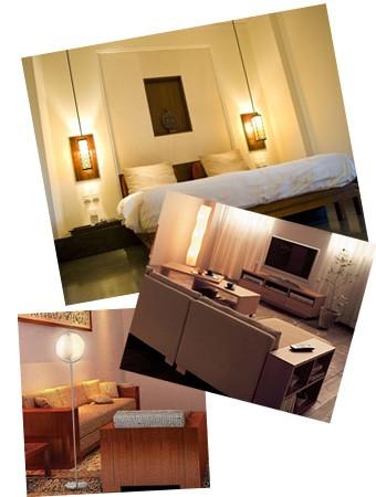 間接照明を使った部屋のイメージ